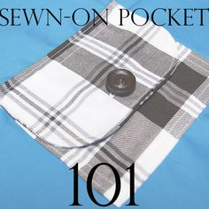Sewn-On Pocket Tutorial