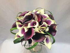 Picasa Calla Lily Bouquet by Rose of Sharon-Event Florist, via Flickr