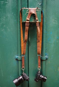 Photographer Leather harness Luxury Leather by 74streetbags