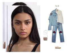"""piece of mind"" by tina-gadze ❤ liked on Polyvore featuring Bliss and Mischief, The Row, Steve Madden, Madewell and Jean-Paul Gaultier"