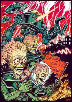Mars Attacks! - Blumb Design                                                                                                                                                                                 Más