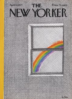 The New Yorker - Monday, April 18, 1977 - Issue # 2722 - Vol. 53 - N° 9 - Cover by : Pierre Le-Tan