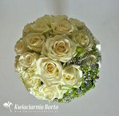 Kwiaciarnia Borto - Kwiaty i kryształy w bukiecie ślubnym