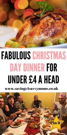This is how to cook the best Christmas day dinner. It may be on a budget but no one will now if you use our free Christmas dinner shopping list too by Laura at Savings 4 Savvy Mums Christmas Dinner Shopping List, Christmas On A Budget, Christmas Fun, Christmas Recipes, Cheap Meals, Easy Meals, Traditional Christmas Dinner, Recipe Boards, Family Meals