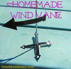 homemade wind vane