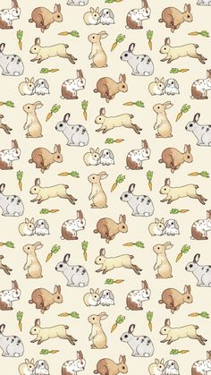 Imagem de background, bunny, and carrot