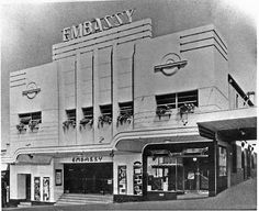 Embassy Theatre building 73-75 Katoomba St. (1914, 1933)