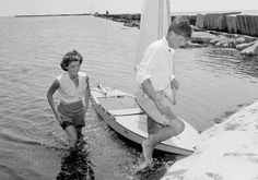 "John & Jackie Kennedy His nickname: ""Prince of Camelot"""