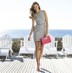 Forever New ~ Darlia Stripe Shift Dress - $149.99