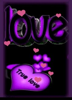 Heart Wallpaper, Love Wallpaper, Cellphone Wallpaper, Purple Love, All Things Purple, Romantic Pictures, Love Pictures, Color Art Lessons, I Love You Animation