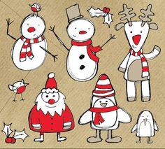 Christmas-Vektorgrafiken Teil III