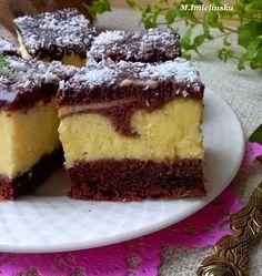 Domowa Cukierenka - Domowa Kuchnia: Izaura- sernik na murzynku