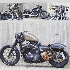 My Harley Davidson Iron 883 Bobber Projekt 2016…