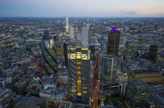 Aerial photography news. Aerial photographer Jason Hawkes. » Blog Archive » June / July aerial views over London dusk and night