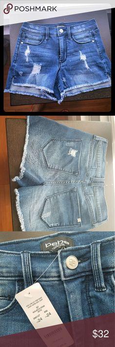 New w/Tag Bebe shorts Bebe Jeans Shorts bebe Shorts Jean Shorts
