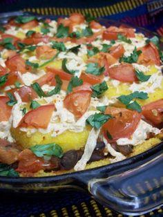 Vegan Mexican Polenta Pie