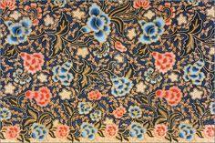 Image of Image of Indonesian batik sarong pattern.