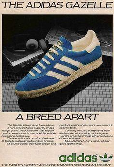 buy online 8e340 58103 Gazelle Zapatos Botines, Zapatillas Sneakers, Tenis, Moda Urbana, Hombres,  Femenina,