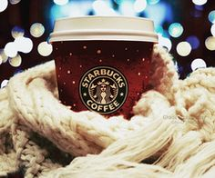 This looks so warm and cozy :]  I'm not a Starbuck's freak, although I do like one on occassion.  I still thought this was a fun picture.