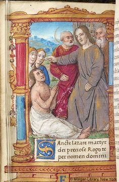 Book of Hours, M.813 fol. 186v - Images from Medieval and Renaissance Manuscripts - The Morgan Library & Museum