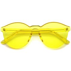3120f6ab77 One Piece PC Lens Rimless Ultra-Bold Colorful Mono Block Sunglasses 60mm -  sunglass.