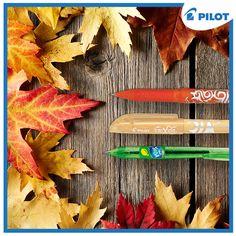 Podzim perům Pilot fakt sluší! Vylaď si penál do podzimních barev :) #happywriting