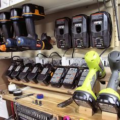 This is must see web content. Learn about milwaukee power tools. Check the webpage for more. Shop Organisation, Trailer Organization, Trailer Storage, Power Tool Organizer, Power Tool Storage, Work Trailer, Utility Trailer, Garage Tools, Garage Workshop
