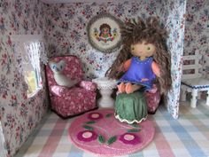 By Hook, By Hand: doll furniture