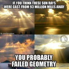 If you think the Sun isn't 93 million miles away, you are probable a dumb ass who thinks the earth is flat Flat Earth Meme, Flat Earth Facts, Flat Earth Proof, 93 Million Miles, Terre Plate, Research Flat Earth, Nasa Lies, Earth Memes, Go Around
