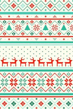 Sweater Pattern Wallpaper