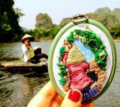 Bordado de Vietnam