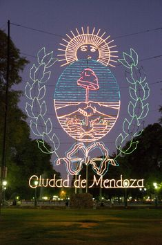 Mendoza, Argentina...The Plaza across the street from our hotel