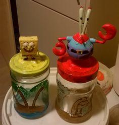 Bob the sponge jars