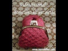 Tutorial/Diy Portamonete/Coin purse Uncinetto/Crochet Base Quadrata (Provvisorio) - YouTube
