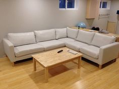 Customer Review We Wanted A Karlstad 2 3 Corner Couch In White Leather