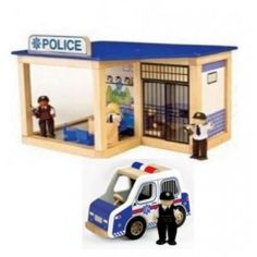 Pintoy Police Station Bundle Set from The Toy Centre