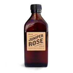 Juniper Rose Simple Syrup.... oh hell yes!