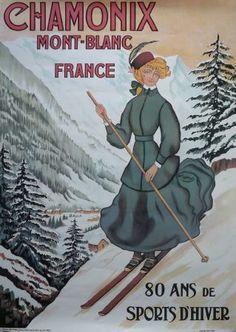 Chamonix, Haute-Savoie, 80 ans de sports d'hiver