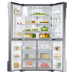 Counter Depth 23 cu ft French Door Refrigerator – Cool Select Plus| Samsung...bottom right can be fridge or freezer!