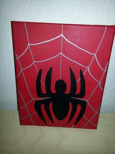 Spider-Man canvas.
