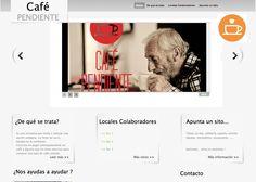 """Nuestro proyecto RSE """"Un Café Pendiente"""" @uncafependiente http://www.uncafependiente.es  No es mediación: nos ayudas a difundirlo por favor. ¡Gracias! #uncafependiente"""