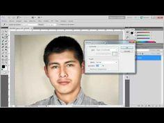 Cómo cambiar el color de Fondo de una Fotografía a Blanco - YouTube