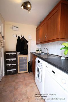 Utility Room Decluttering After picture