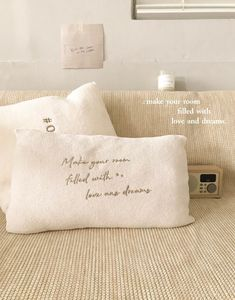 A'ROOM 夢想小閣樓刺繡針織長型抱枕 | PAZZO 生活好感衣著 Throw Pillows, Room, Cushions, Rooms, Decorative Pillows, Bedroom, Decor Pillows