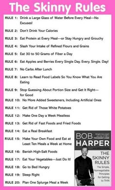 Rules to live by - should reconsider rule 2