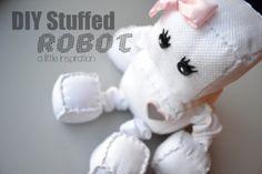 DIY Stuffed Robot Tutorial » Little Inspiration