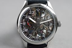Another one by Wilk Watchworks.  These are HANDCRAFTED!  Beautiful watches.