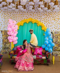 We absolutely loved the chemistry between these two guys. Tent Decorations, Wedding Stage Decorations, Baby Shower Decorations For Boys, Flower Decorations, Indian Baby Showers, Mehndi Decor, Marriage Decoration, Wedding Mandap, Wedding Events