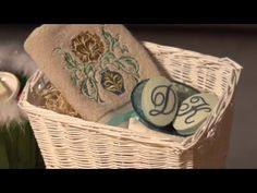 Adding a bar of embroidered soap is a fabulous way to spruce up gift baskets or your own bathroom decor. Watch as Deb from Embroidery Library explains how to...