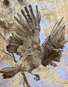 Joseph-Crawhall-xx-The-Rooks-Nest-xx-Burrell-Collection.jpeg (1001×1280)